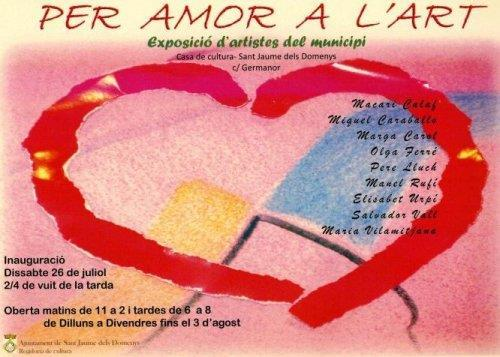 Festa Major: Exposició 'Per amor a l'art'